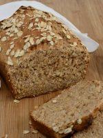 Receta de pan casero de avena