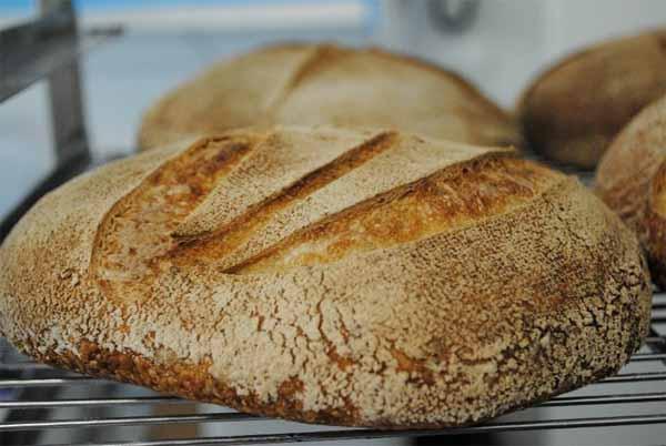Receta de pan casero rústico