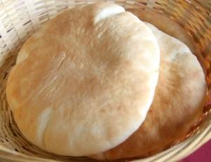 Receta de pan de kebab