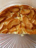 Receta de tarta de manzana y gelatina