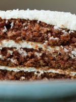 Receta de pastel de zanahoria y coco