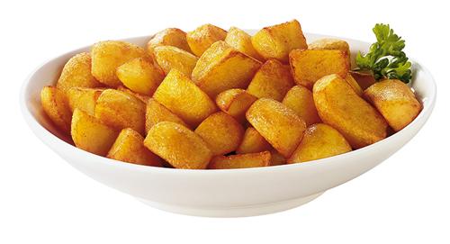 Receta de patatas bravas al horno