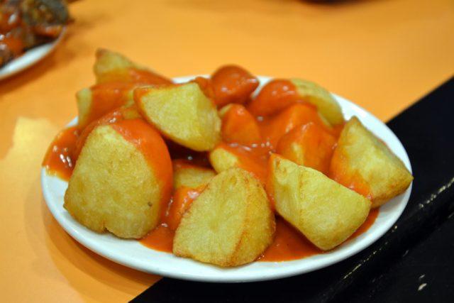 Receta de patatas bravas con vinagre