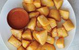 Receta de patatas bravas con vino