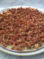 Receta de pizza barbacoa