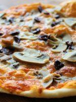 Receta de pizza romana