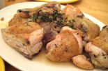Receta de pollo al ajillo con cerveza