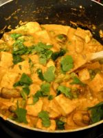 Receta de pollo al curry hindú