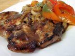 Receta de pollo asado con pimientos