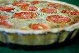 Receta de quiche lorraine de tomate a la provenzal