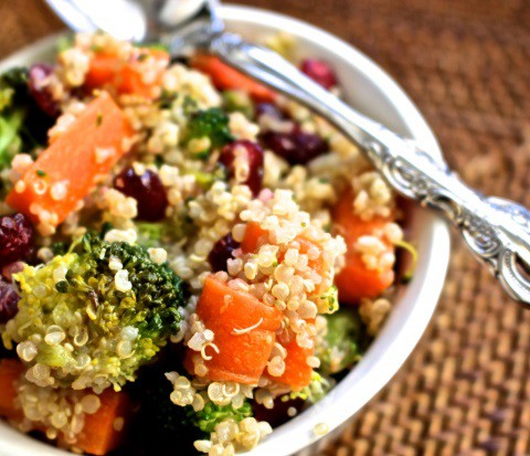 Receta de quinoa al vapor