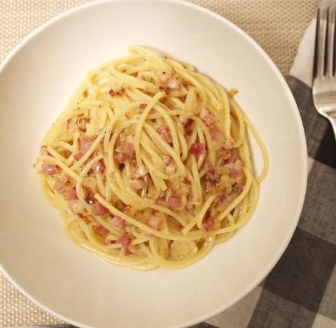 Receta de salsa carbonara con cebolla