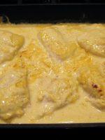 Salsa curry con nata