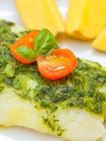 Receta de salsa verde con rape