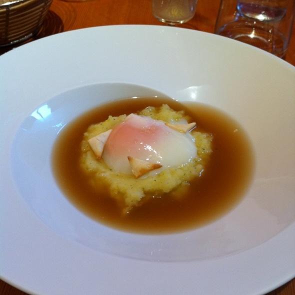 Receta de sopa de cebolla con huevo
