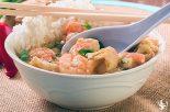 Receta de sopa de marisco con arroz