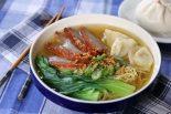 Receta de sopa de noodles con solomillo de cerdo