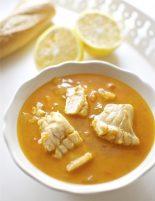 Receta de sopa de pescado thermomix