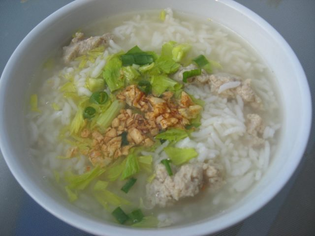 Receta de sopa de pescado con arroz