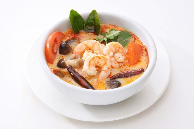 Receta de sopa de pescado con gambas