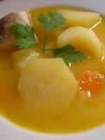 Receta de sopa de pescado con patatas