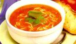 Receta de sopa de pollo y tomate
