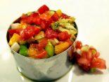 Receta de steak tartar con verdura