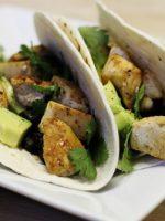 Receta de tacos con guacamole