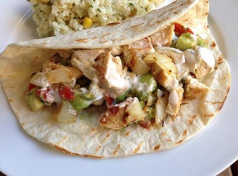 Receta de tacos de pollo - Tacos mexicanos de pollo ...