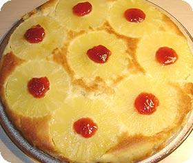 Receta de tarta de piña