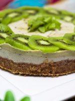 Receta de tarta de queso con kiwi