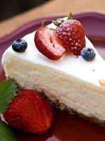 Receta de tarta de queso griega