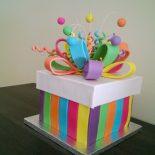 Receta de tarta fondant sorpresa
