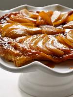 Receta de tarta tatin con hojaldre