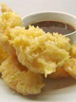 Receta de tempura de pescado