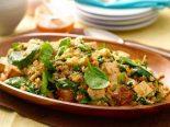 Receta de tofu con arroz