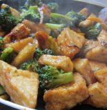 Receta de tofu con brocoli