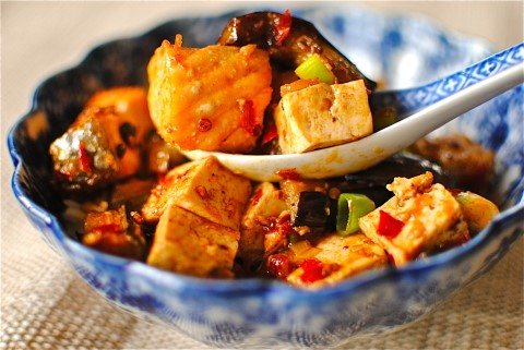 Receta de tofu con salmon