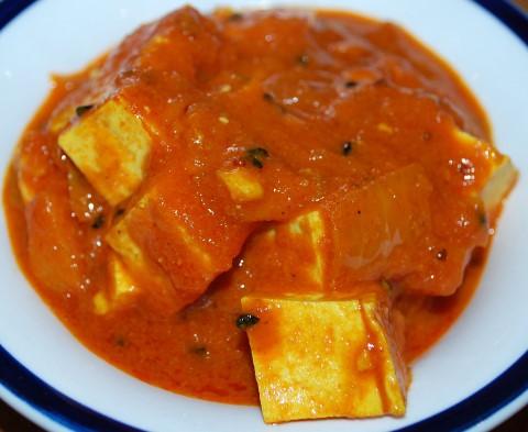 Receta de tofu con tomate