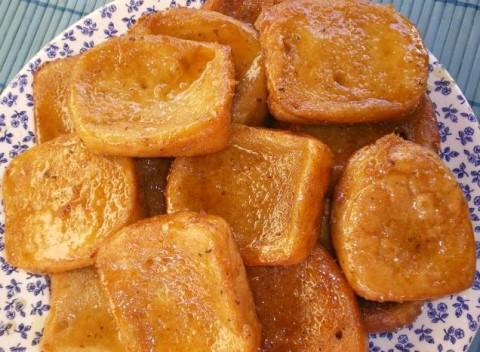 Receta de torrijas con miel