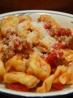 Receta de tortellini con salsa boloñesa