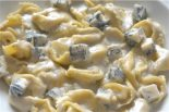 Receta de tortellini con salsa de queso