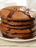 Receta de tortitas con chocolate