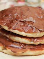 Receta de tortitas con nocilla