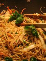 Receta de wok de fideos