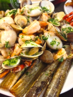 Receta de wok de marisco