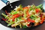 Receta de wok de verduras