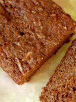 Receta de pastel de zanahoria vegano