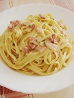 Salsa carbonara light