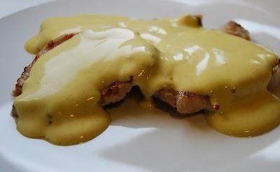 Receta de salsa curry con mostaza